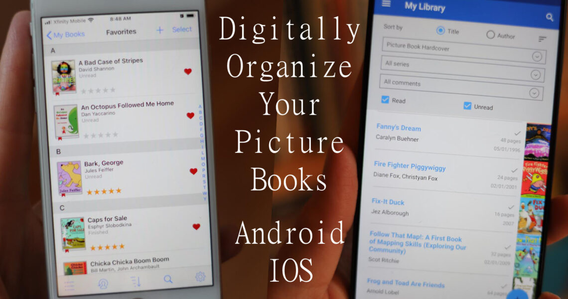 Digitally Organize Picture Books: Personal Library App