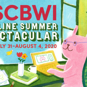 Advertisement for SCBWI Summer Spectacular