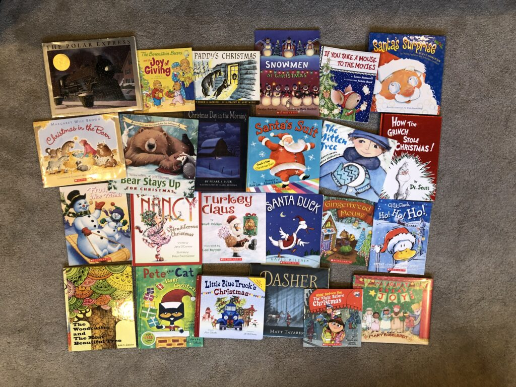 24 Christmas picture books