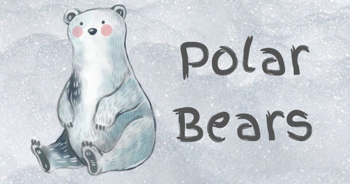 Picture of a cartoon Polar Bear