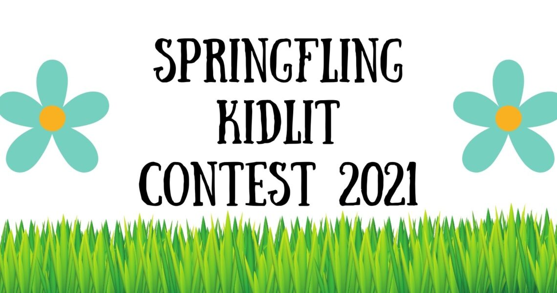 Springfling Writing Contest 2021 picture with grass and flowers